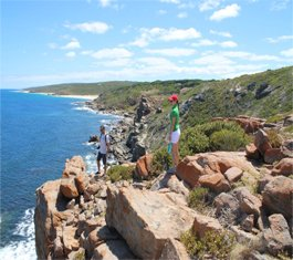 Margaret River Scenic Wine & Nature Tour -  Nature Tours Plus at the Wilyabrup Sea Cliffs