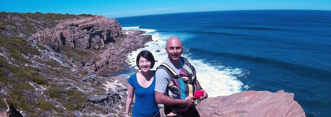 Couple spending their vacation in Margaret River